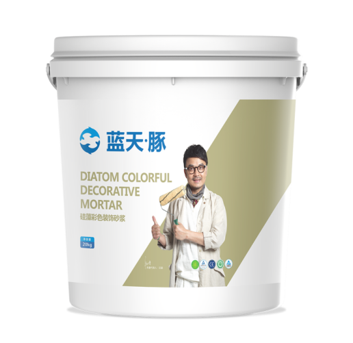 Surface Coating-Decorative Mortar