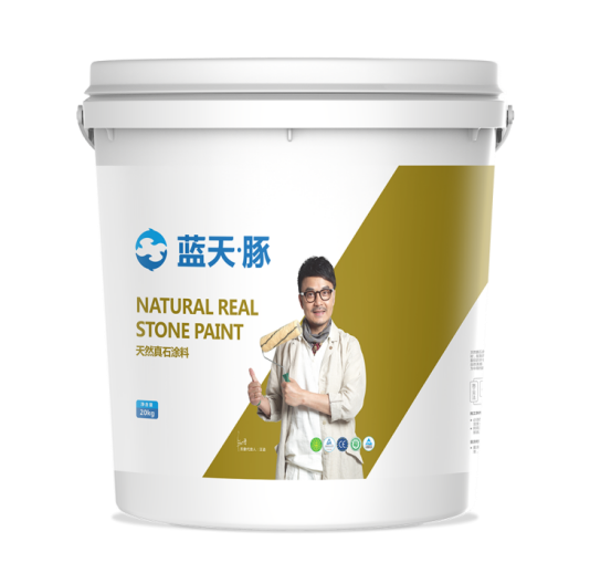 Surface Coating Natural Real Stone Paint