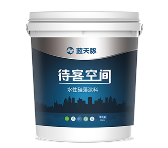 Interior wall surface Coating with Liquid Diatom Mud
